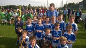 U8 Team at Dicksbro Blitz Sept 2014