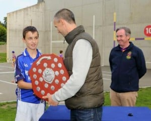 receiving the shield